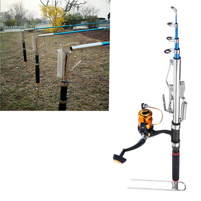 Lovoski Automatic Telescopic Rod & Spinning Reel Travel Combos Fishing Tool