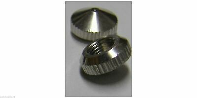 Closed Hand Nut Cap Nut Chrome Silver for Junghans W838 W817 838 817