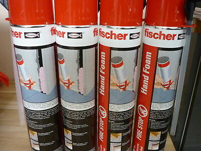 Fischer Fire Stop Expanding Foam 750ml Air seal Acoustic foam filler spray