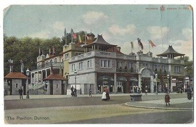 DUNOON The Pavilion, Reliable Series Postcard Postmarked Dunoon 1909