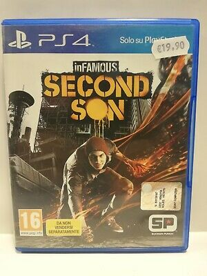 Infamous - Second Son - PS4 - PlayStation 4 PAL
