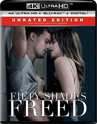 Fifty Shades Freed (Unrated Edition)(4K Ultra HD)(UHD)(DTS:X)
