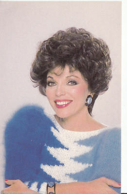 Joan Collins Autogrammkarte Denver-Clan +64235 D