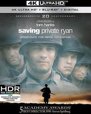 Saving Private Ryan (4K Ultra HD)(UHD)(Dolby Vision)(Atmos)