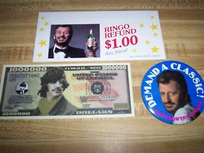 The Beatles / Ringo Starr / Sun Country Cooler Collectibles