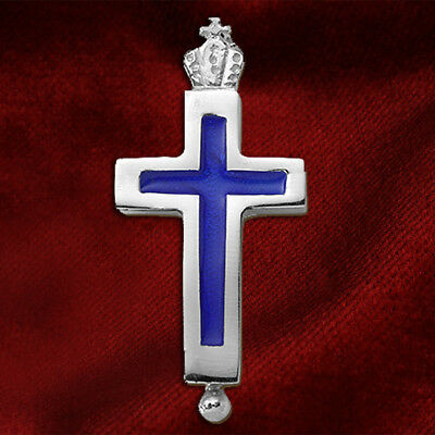 Sterling Silver 925 Greek Christian Orthodox Byzantine Reliquary Cross