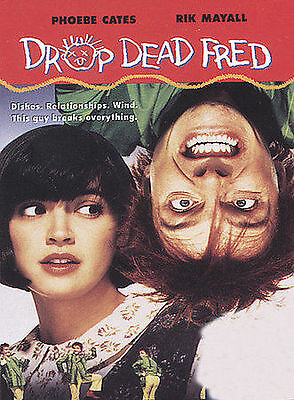 Authentic Drop Dead Fred Dvd Brand New Sealed