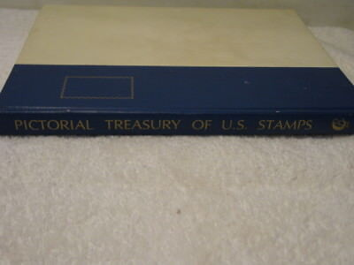 PICTORIAL TREASURY of U.S. STAMPS, 1974, hardcover