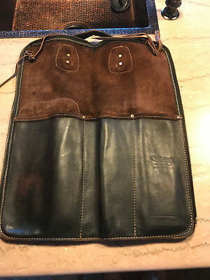 Ms. Perc Leather Drumstick Case from Manny's 48th St. New York (Extra Wide)