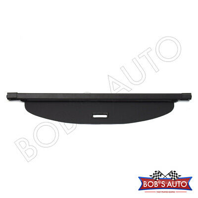 For 14-17 Acura RDX Black [OE Style] Retractable Trunk Tonneau Cargo Cover Shade