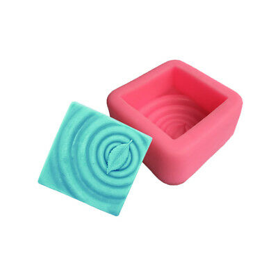 Square Leaf Silicone Soap Molds Soap Making Molds Craft Art Resin Mould Tool AC
