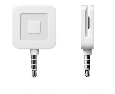 *Brand New* Square Credit Debit Card Reader Apple iPhone, iPad & Android White*