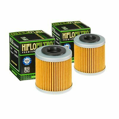 Hi-Flo Oil Filter 2 Pack Hf563 For Husqvarna Husky Te450 2008 2009 2010