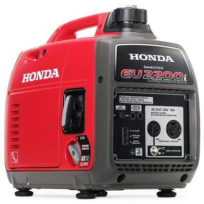 Honda Portable Generator with Inverter EU2000I Companion Super Quiet 2000 Watt
