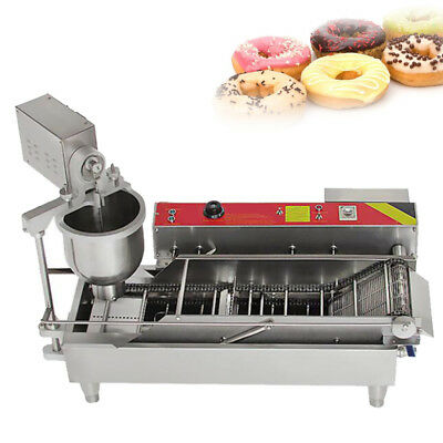 600Pcs/hour Commercial Automatic Donut Maker Making Machine with Water Tank 6KW