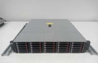 "HP D2700 15TB 2.5"" 25 Bay Enclosure 25x 600GB SAS Dual Controller Dual PSU"