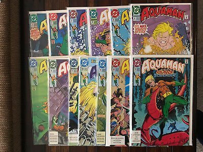 DC Comics AQUAMAN (Volume 4 1991) 1 2 3 4 5 6 7 8 9 10 11 12 13 VF/NM Complete