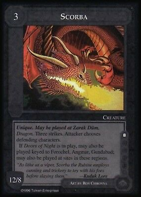 MECCG CCG Middle-earth The Riddle Game The Dragons TD NEAR MINT