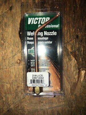 NEW Victor 2-W-J-CS Series Welding Nozzle 0387-0042 SALE