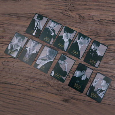 Kpop WANNA ONE Album I Promise You Official Postcard Photocard Fan Collection