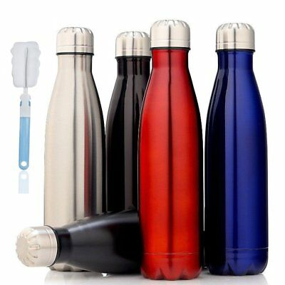 Stainless Steel Vacuum Thermos Flask Insulated  Water Bottle 350/500/750/1000ML