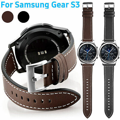 Wristband Leather Strap Band Magnetic for Samsung Gear S3 Classic S3 Frontier