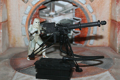 Snowtrooper Heavy Repeating Blaster Star Wars Power Of The Force 2 1997