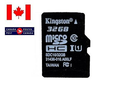 Kingston 32GB SDHC Class 10 Micro SD Memory Card