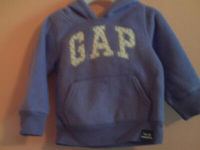 bb3382aac NWT BABY GAP girl purple sweater w white crown on front  size 6-12m ...