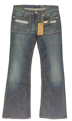 Jeans large Vintage pattes d'eph bootcut femme REDWOOD JIBEE RWD taille W 31
