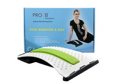 Pro 11 Back stretcher with acupressure points