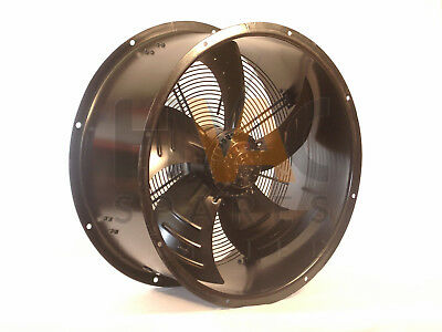 Quality Kitchen, Industrial Duct, Cased Axial, Commercial Extractor Fan Motor 6p