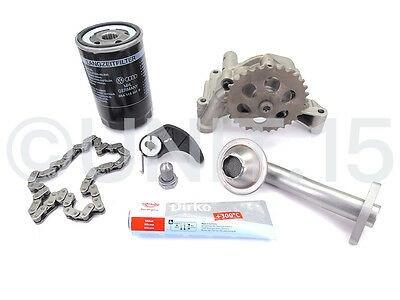 Audi A4 1.8T 2002-2008 Engine Oil Pump Chain Tensioner Repair Kit - BFB