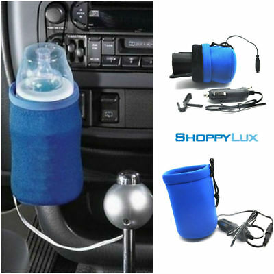 Car Baby Milk Warmer Portable Auto Bottle Heater 12V DC Travel Cup Drink Pouch