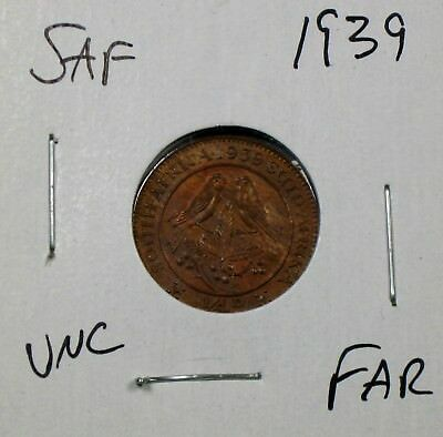 1939 South Africa Farthing Uncirculated No Reserve!!