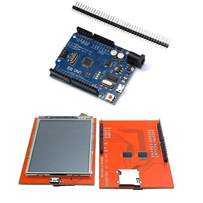 UNO R3 Kit with 2.8 Inch TFT LCD Touch Screen Module For Arduino