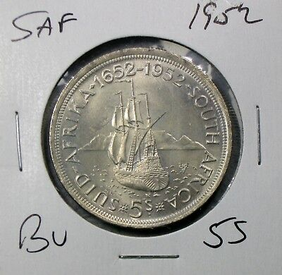 1952 South Africa Crown Uncirculated No Reserve!!