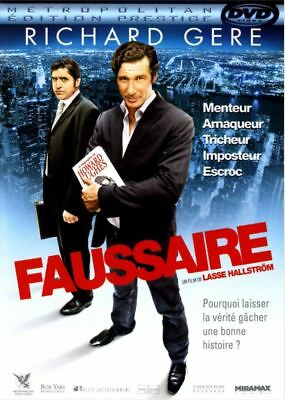 DVD - FAUSSAIRE [Richard Gere - Alfred Molina] Comédie - Dame - NEUF