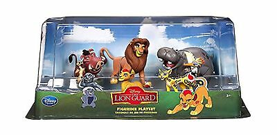The Lion King - Lion Guard Birthday Cake Topper Figure Set Featuring Kion, Si...