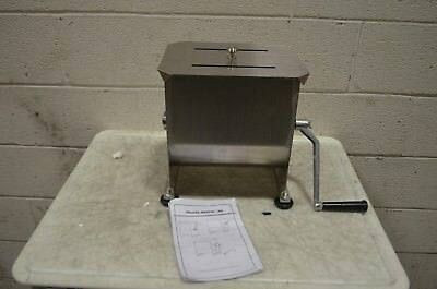 36-1901-W 20 lb. Manual Meat Mixer with Removable Paddles