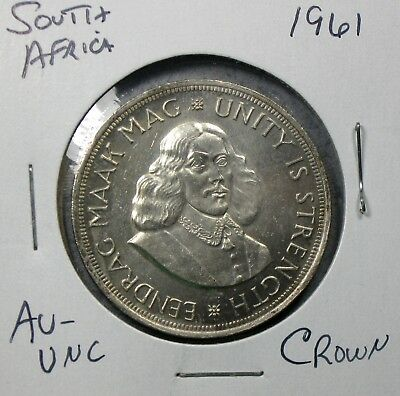 1961 South Africa Crown Uncirculated No Reserve!!