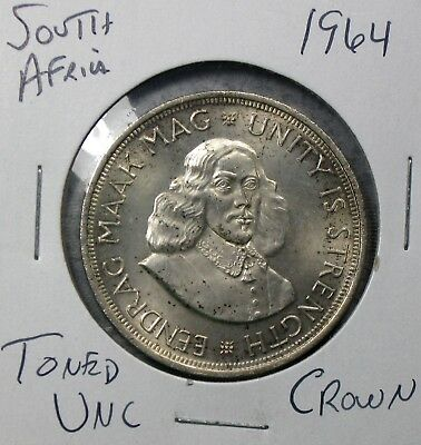 1964 South Africa Crown Uncirculated No Reserve!!