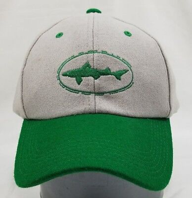 8010585e702 DOGFISH HEAD CRAFT Beer Brewery New Snapback Cap Gray Green Ale Hat ...