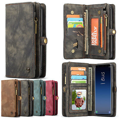 Genuine CaseMe Leather Purse Wallet Case Cover F Samsung Galaxy Note 10 S10+ 5G