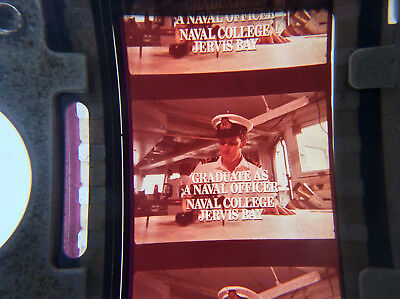 35mm movie film ad JOIN THE NSW NAVY Australian military cinema commercial