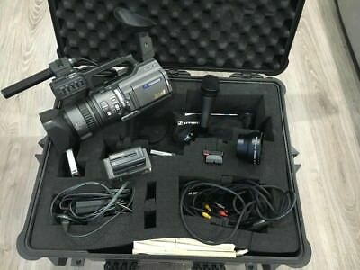 Sony DSR-PD150 Professional Video Camera with Pelican 1600 Case Sennheiser E835