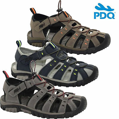 Mens Pdq Walking Strap Sandal Desert Trail Hiking Toggle Summer Breatheable Size