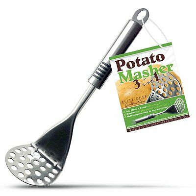 Lot of 10 Pcs Potato Masher Slicer Quick and Easy Fast Smooth Lumpless Mashing