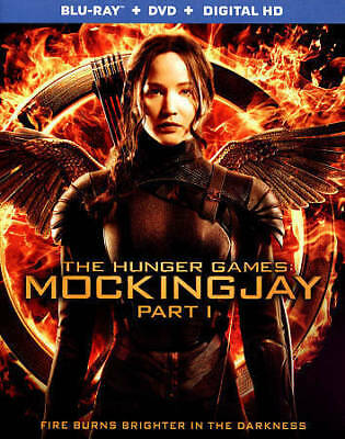 The Hunger Games: Mockingjay, Part 1 (Blu-ray/DVD, 2015, 2-Disc Set) NEW SEALED