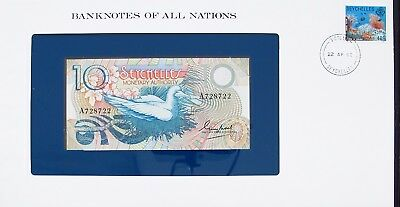 SEYCHELLES - 1979 -  10 RUPEE - CU - P23a - BANKNOTES OF ALL NATIONS 7533